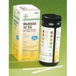 Bandelettes urinaire  réactives Multistix 10 SG