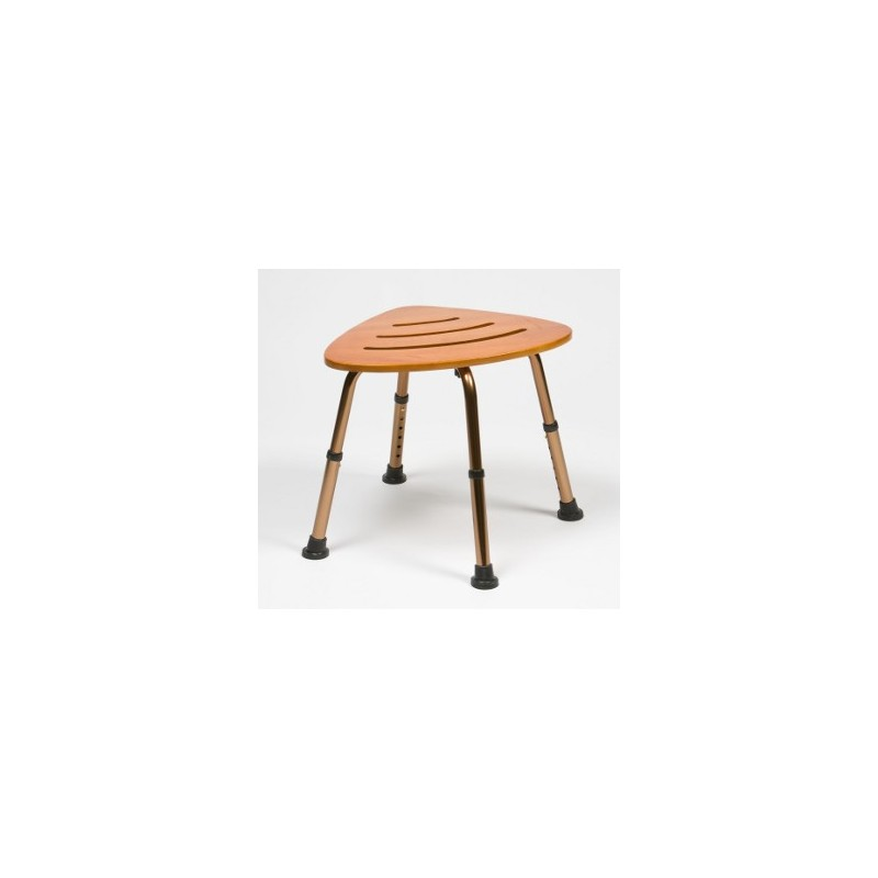 tabouret de douche bamboo seudre confort m dical. Black Bedroom Furniture Sets. Home Design Ideas
