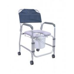 Chaise mobile de douche et de toilettes MAHINA