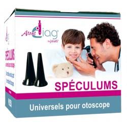 Spéculums auriculaires universels usage unique  2.5mm