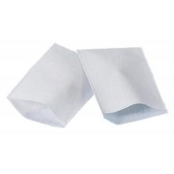 Gant de toilette blanc jetable