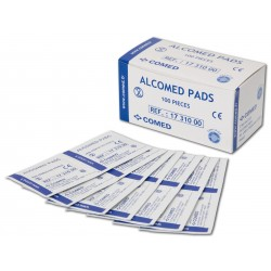 TAMPON D'ALCOOL ALCOMED PADS
