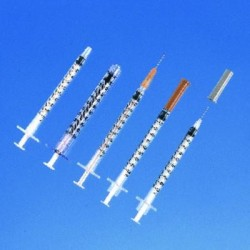 Seringues insuline  BD Plastipak 1ml
