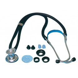 Stethoscope simple pavillon gris