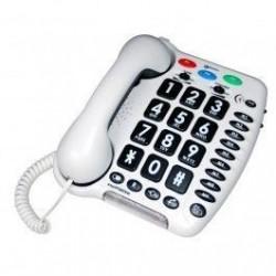 Téléphone Geemarc amplifié Amplipower 40 Blanc