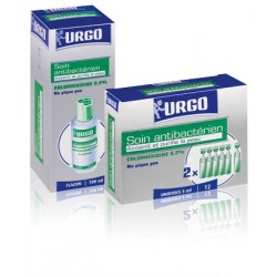 Urgo - Chlorhexidine 0,2% - 12 unidoses x 5 ml