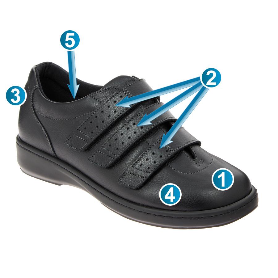Chaussures en Toile Mirak Celia Ruiz 300 Homme